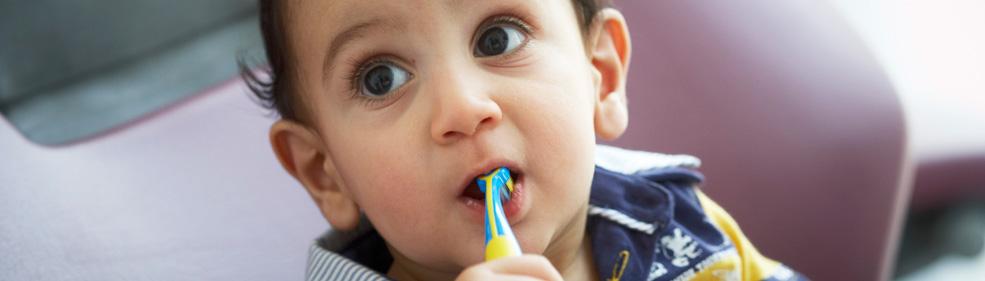 Richtig Zähne putzen von klein auf